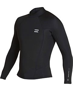 Billabong Absolute Comp 1.5mm Jacket - Black/Silver