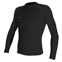 O'Neill HyperFreak 1.5mm Long Sleeve Top - Black