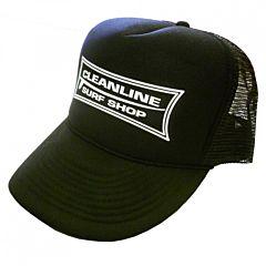 Cleanline Longboard Mesh Hat - Black