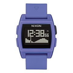 Nixon Base Tide Watch - Purple Resin