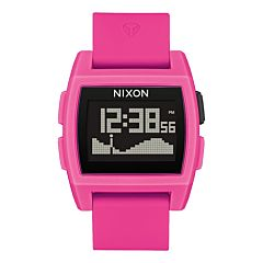 Nixon Base Tide Watch - Punk Pink Resin