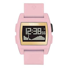 Nixon Base Tide Watch - Soft Pink/Gold/LH
