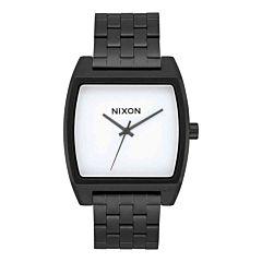 Nixon Time Tracker Watch - Black/White