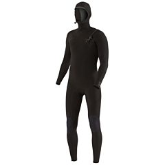 Vissla Seven Seas 6/5 Hooded Chest Zip Wetsuit - Stealth