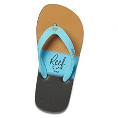 Reef Youth Switchfoot Prints - Aqua Gold - Top