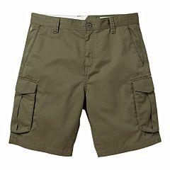 Volcom Bevel Cargo Shorts - Military - front