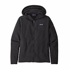 Patagonia Women's Better Sweater Fleece Zip Hoodie - Black