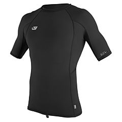 O'Neill Premium Skins Short Sleeve Rash Guard - Black/Black