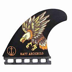 Captain Fin Matt Archbold Speed Futures Tri Fin Set - Medium