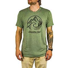 Cleanline Pacific Northwest T-Shirt - Vintage Pine