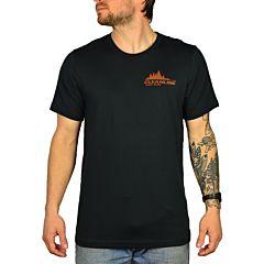 Cleanline Treeline Seaside T-Shirt - Vintage Black