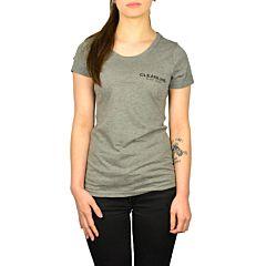 Cleanline Women's Lines Top - Grey/Black