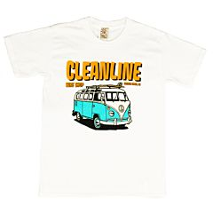 Cleanline Youth Bus Trip Cannon Beach T-Shirt - White