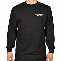 Cleanline Speed Diamond Long Sleeve T-Shirt - Black