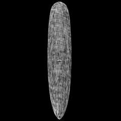 CJ Nelson Designs Colapintail Thunderbolt Surfboard - Black - Deck