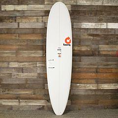 Torq Longboard 9'6 x 23 1/2 x 3 1/4 Surfboard - Dark Green/White - Deck