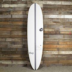 Torq TEC M2 XL 8'0 x 22 x 2 7/8 Surfboard - Blue/White - Deck