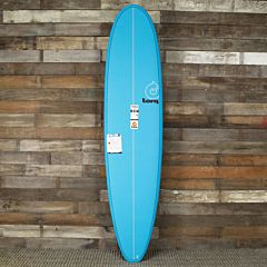 Torq Mini Longboard 8'0 x 22 x 3 Surfboard - Blue - Deck