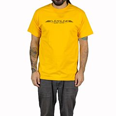 Cleanline Wings T-Shirt - Gold