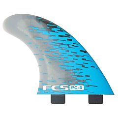 FCS Fins PC5 Quad Fin Set - Blue Smoke