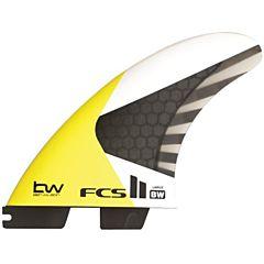 FCS II Fins BW Kite Surf Tri Fin Set