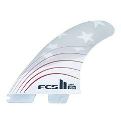 FCS II Fins USA PC 4th Of July Medium Tri Fin Set