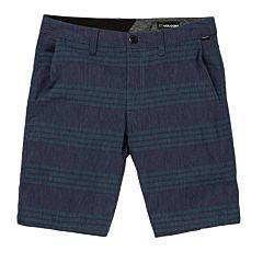 Volcom Frickin Surf N' Turf Shorts - Blue/Black - front