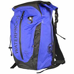Geckobrands Paddler 45L Dry Backpack - Royal/Black