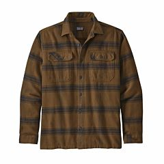 Patagonia Fjord Flannel - Burl Wood/Owl Brown