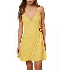 O'Neill Women's Ivara Dress - Gold - front