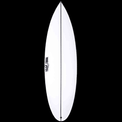 JS Monsta Box Round Tail Surfboard - Deck