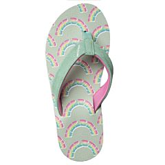 Volcom Youth Big Girl Vicky Sandals - Seaglass - Top