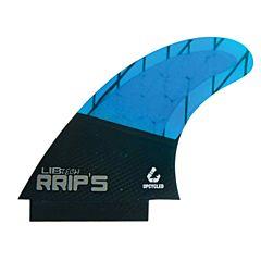 Lib Tech Fins RRIP's Quad Fin Set - Blue