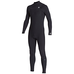 Billabong Furnace Revolution Pro 3/2 Chest Zip Wetsuit - Black