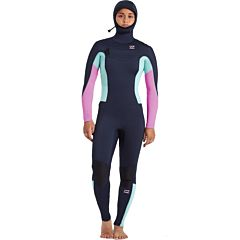 Billabong Synergy 5/4 Hooded Chest Zip Wetsuit