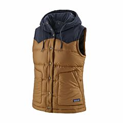 Patagonia Women's Bivy Hooded Vest - Nest Brown