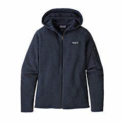 Patagonia Women's Better Sweater Fleece Zip Hoodie - New Navy