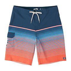 Billabong All Day Stripe Boardshorts - Neon Melon - front