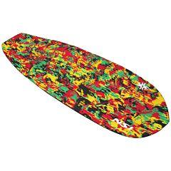 North Shore Inc Full Monty Surf Pad - Rasta