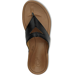 Olukai Women's Lala Sandals - Black/Tan