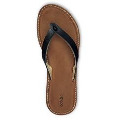 Olukai Women's Nohie Sandals - Black/Tan