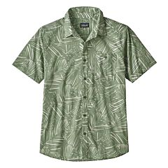 Patagonia Go To Short Sleeve Shirt - Rain Fern/Matcha
