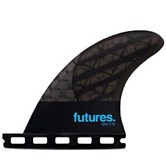 Futures Fins QD2 3.75 Blackstix Quad Rears Fin Set