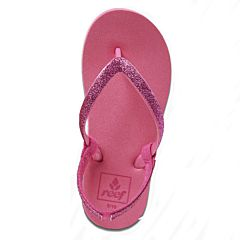 eef Youth Little Stargazer Sandals - Hot Pink - Top
