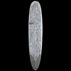 Skindog Smoothie Thunderbolt Surfboard - Brushed Clear - Deck