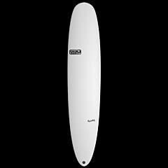 Skindog Smoothie Thunderbolt Surfboard - White - Deck