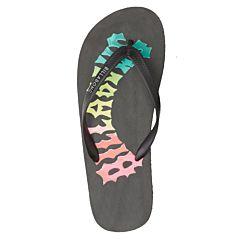 Billabong Tides Sandals - Black/Neon - Top