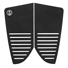 Captain Fin Trooper Traction Flat Pad - Black