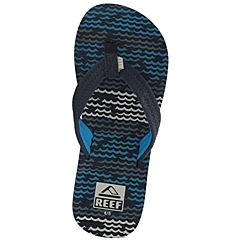 Reef Youth Ahi Sandals - Blue Horizon Wave - Top