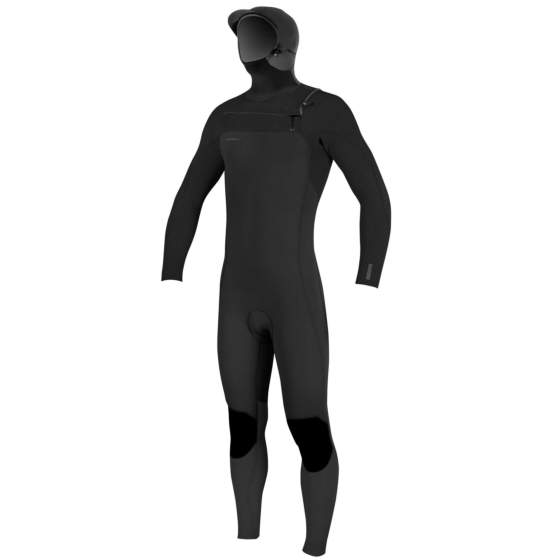 O'Neill Youth Hyperfreak 5/4+ Hooded Chest Zip Wetsuit